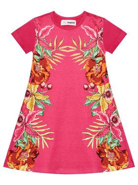 Desigual Desigual Každodenné šaty Lucy 21SGVK31 Ružová Regular Fit
