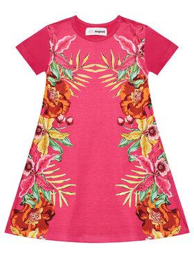 Desigual Desigual Každodenní šaty Lucy 21SGVK31 Růžová Regular Fit