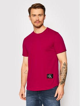 Calvin Klein Jeans Calvin Klein Jeans Tričko J30J315319 Ružová Regular Fit