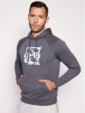 Under Armour Under Armour Bluza UA Rival Fleece Printed 1345636 Szary Regular Fit