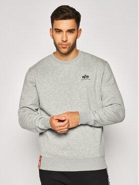 Alpha Industries Alpha Industries Sweatshirt Basic 188307 Gris Regular Fit