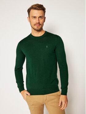 Polo Ralph Lauren Polo Ralph Lauren Pullover Ls Sf Cn Pp 710714346022 Grün Slim Fit