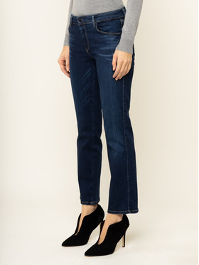 Guess Guess Blugi Curvy Fit Sexy Straight Ankle W01A48 D38R5 Bleumarin Curvy Fit