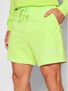 Tommy Jeans Tommy Jeans Szorty sportowe Tjm Tonal Logo Beach DM0DM10630 Zielony Regular Fit