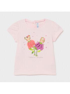 Mayoral Mayoral T-shirt 1079 Rose Regular Fit