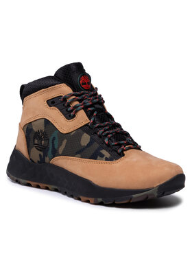 Timberland Timberland Sneakersy Solar Wave Mid TB0A2HSK231 Hnedá