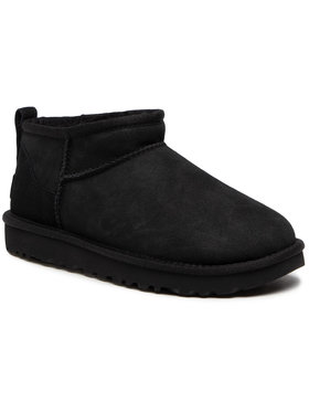 Ugg Ugg Chaussures W Classic Ultra Mini 1116109 Noir