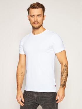 Levi's Levi's 2 marškinėlių komplektas 905055001 Balta Regular Fit