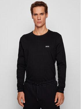Boss Boss Тениска с дълъг ръкав Togn 50399925 Черен Regular Fit