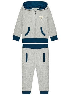 Guess Guess Komplektas: džemperis ir kelnės I0BG13 K82T0 Pilka Regular Fit