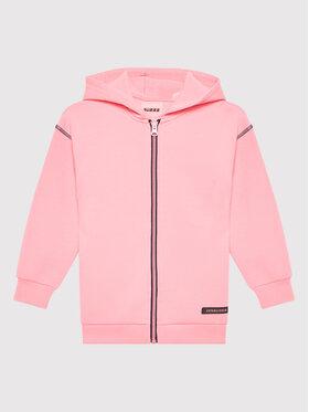 Guess Guess Bluza J1BQ21 FL03S Różowy Regular Fit