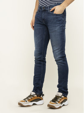 Tommy Jeans Tommy Jeans Jeansy Slim Fit Scanton DM0DM07322 Granatowy Slim Fit