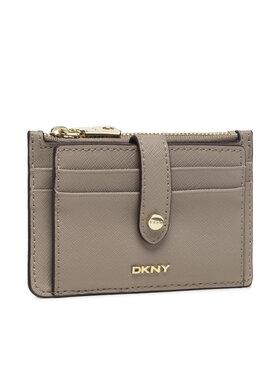 DKNY DKNY Etui za kreditne kartice Thomasina Credit Card Holder R13Z1P74 Bež
