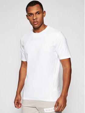 Calvin Klein Performance Calvin Klein Performance T-Shirt Pw-S/S 00GMS1K136 Biały Regular Fit