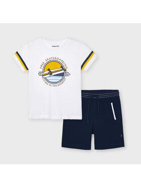 Mayoral Mayoral Komplet t-shirt i spodenki 3644 Kolorowy Regular Fit