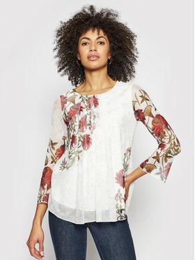 Desigual Desigual Блуза MONSIEUR CHRISTIAN LACROIX Sheila 21SWTKDD Бял Regular Fit