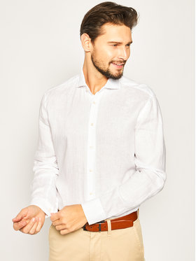 Baldessarini Baldessarini Camicia Henry 41232/40015/1010 Bianco Regular Fit