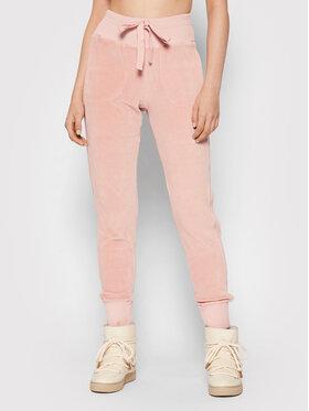 Deha Deha Spodnie dresowe B54106 Różowy Regular Fit