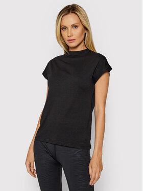 4F 4F T-Shirt H4L21-TSD038 Czarny Regular Fit