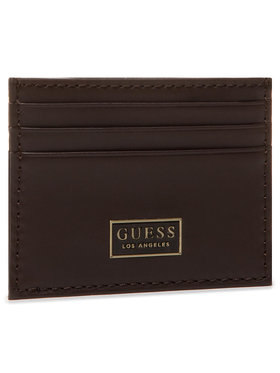Guess Guess Θήκη πιστωτικών καρτών SMREIL LEA25 Καφέ