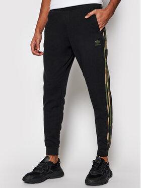 adidas adidas Pantalon jogging Camo GN1861 Noir Fitted Fit