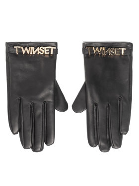 TwinSet TwinSet Mănuși de Damă 202TA4353 Negru