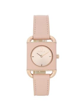 Furla Furla Zegarek Arco Square WW00017-VIT000-1BR00-1-008-20-CN-W Różowy
