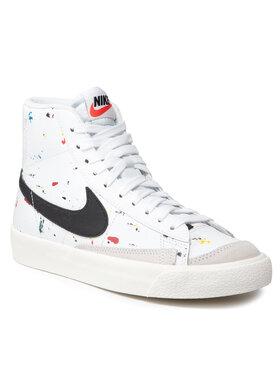 Nike Nike Обувки Blazer Mid '77 Bb (Gs) DJ2618 100 Бял