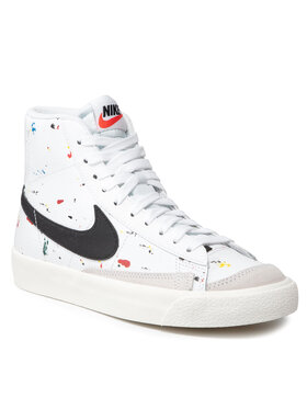 Nike Nike Παπούτσια Blazer Mid '77 Bb (Gs) DJ2618 100 Λευκό