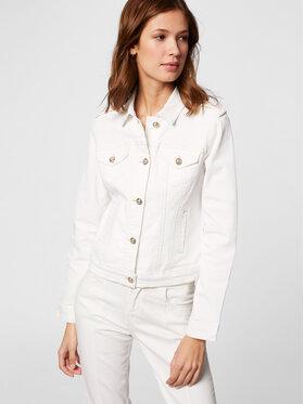 Morgan Morgan Kurtka jeansowa 211-VICTOR Biały Regular Fit