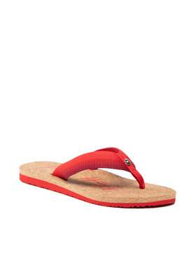 Tommy Hilfiger Tommy Hilfiger Infradito Gradient Tommy Beach Sandal FW0FW05669 Rosso