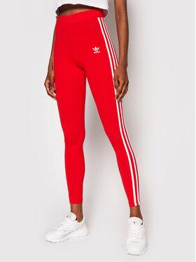 adidas adidas Colanți adicolor Classics 3-Stripes H09428 Roșu Extra Slim Fit