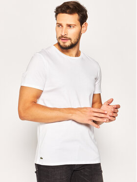 Lacoste Lacoste Σετ 3 T-Shirts TH3451 Λευκό Regular Fit