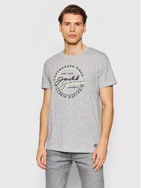 Jack&Jones Jack&Jones T-Shirt Woods 12193759 Γκρι Regular FIt