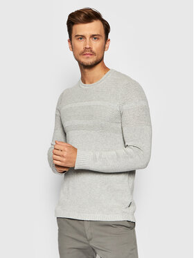 Only & Sons Only & Sons Pull Bace 22020639 Gris Regular Fit