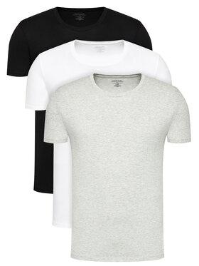 Calvin Klein Underwear Calvin Klein Underwear Set 3 tricouri 000NB4011E Colorat Classic Fit