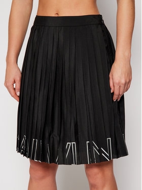 Calvin Klein Jeans Calvin Klein Jeans Πλισέ φούστα J20J215140 Μαύρο Regular Fit