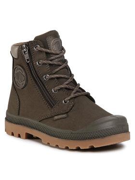 Palladium Palladium Ορειβατικά παπούτσια Pampa Hi Cuff Wp 53476-213-M Πράσινο