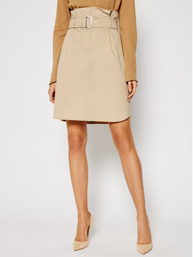 Weekend Max Mara Weekend Max Mara Jupe midi Monile 51010511 Beige Regular Fit