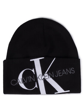Calvin Klein Jeans Calvin Klein Jeans Čiapka Beanie K60K606889 Čierna