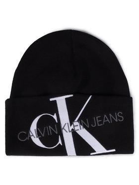 Calvin Klein Jeans Calvin Klein Jeans Kepurė Beanie K60K606889 Juoda