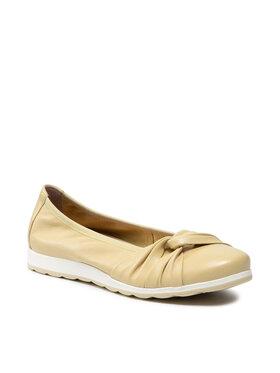 Caprice Caprice Балеринки 9-24650-26 Жълт
