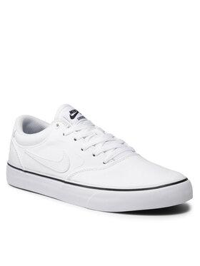 Nike Nike Topánky Sb Chron 2 Cnvs DM3494 102 Biela