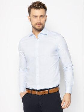JOOP! Joop! Marškiniai 17 JSH-04Panko 30019735 Mėlyna Slim Fit