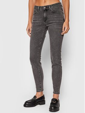 Selected Femme Selected Femme Τζιν 16066492 Γκρι Skinny Fit