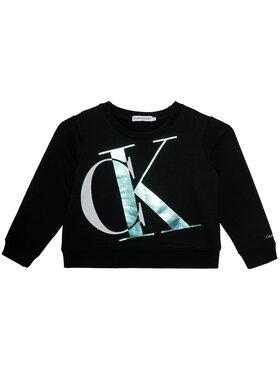 Calvin Klein Jeans Calvin Klein Jeans Bluză Exploded Monogram Bxy IG0IG00685 Negru Regular Fit