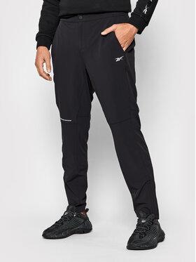 Reebok Reebok Παντελόνι φόρμας Les Mills® Athlete H08939 Μαύρο Slim Fit