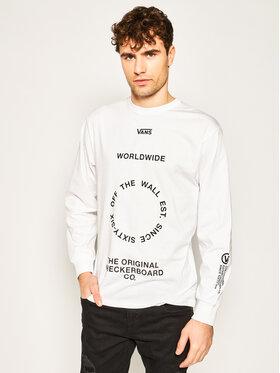 Vans Vans Sweatshirt Distortion VN0A49QLWHT1 Blanc Classic Fit