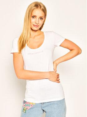 Emporio Armani Emporio Armani T-Shirt 163377 0P263 00010 Biały Regular Fit