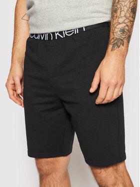 Calvin Klein Underwear Calvin Klein Underwear Pyžamové šortky 000NM2127E Čierna